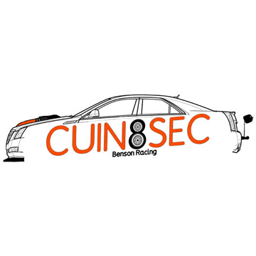 CUIN8SEC Benson Racing Cadillac Attack 2021 sponsor